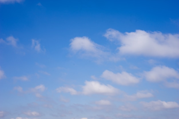 Cielo azzurro e nuvole