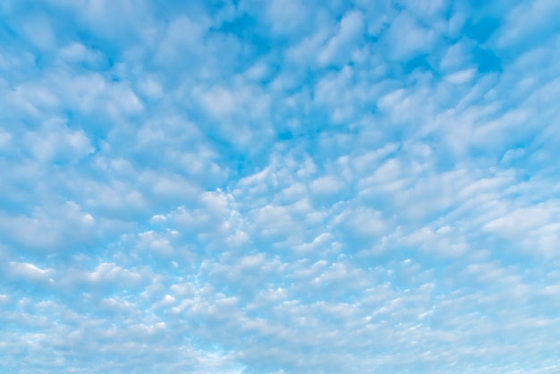 Blue sky with cloud in summer. environment and nature background.