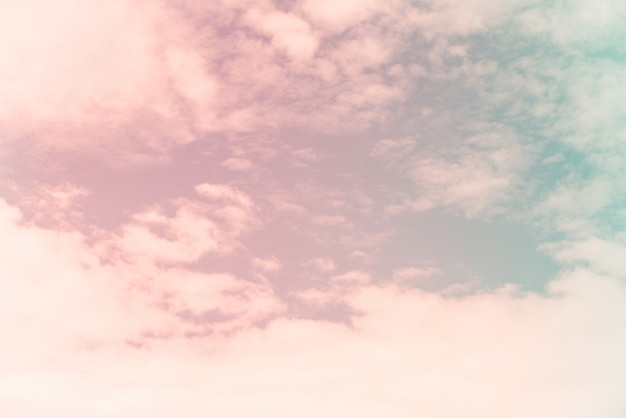 Blue sky with clouds background. vintage retro effect style pictures.