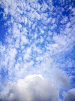 Blue sky with clouds, sky with cloudy
