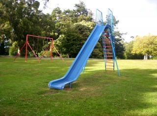 Blue slide