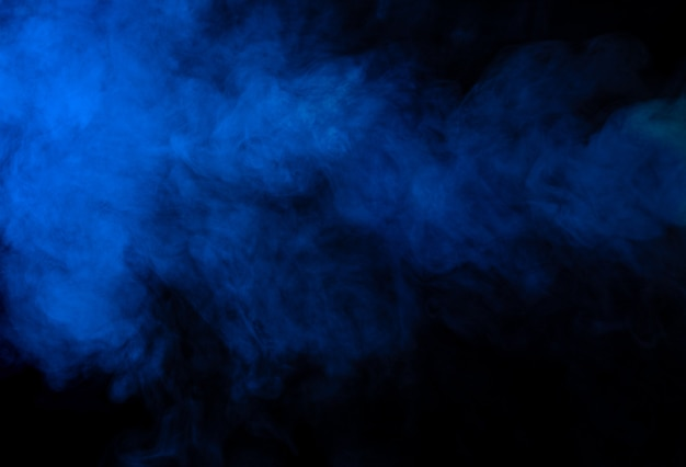 Синий дым текстуры фона