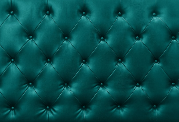 Blue sofa leather background