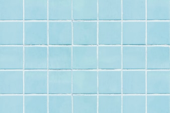 Blue square tiled texture background