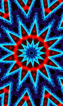 青い星のスマートフォンの壁紙。スマートフォン、モバイル、デバイス用の低ポリモダンディスプレイ抽象的なポリゴンの背景。