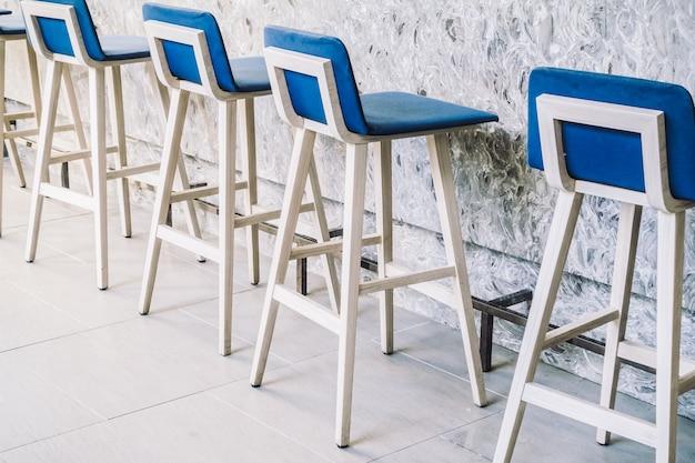 푸른 의자