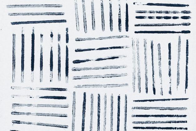 Blue striped pattern background block prints