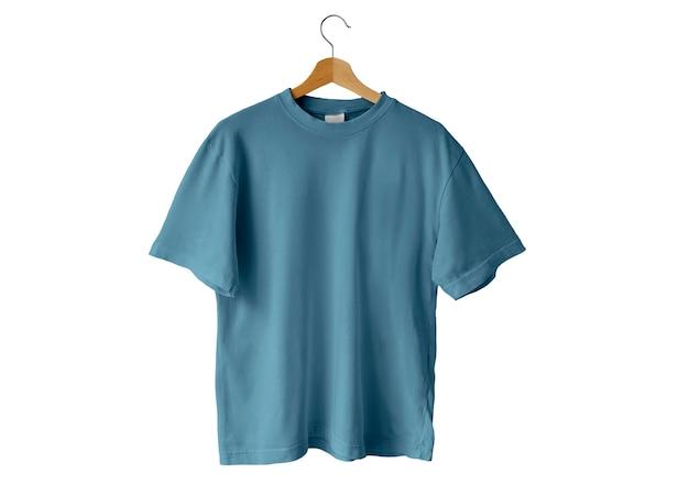 블루 티셔츠