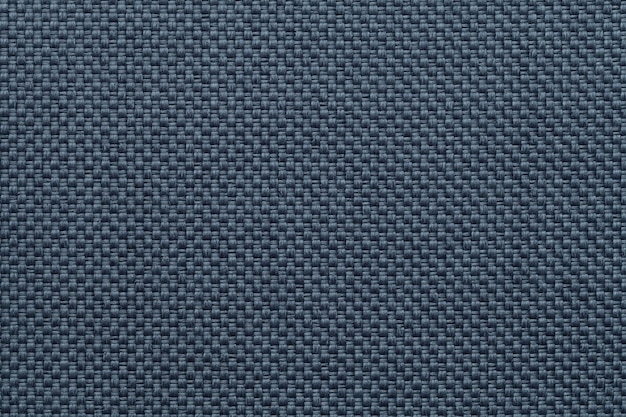 Blue textile background closeup