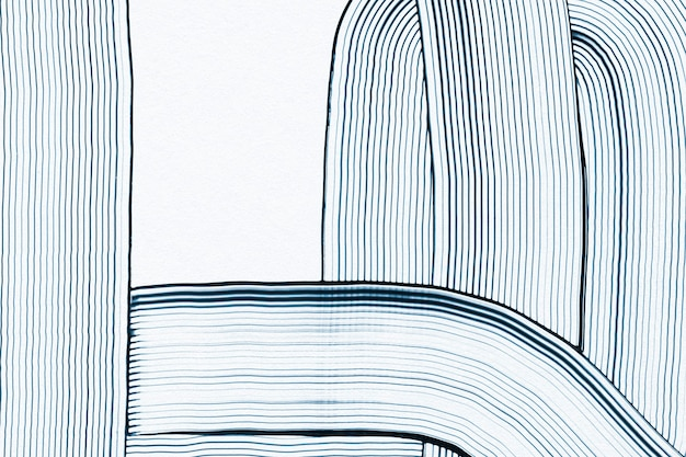 Arte astratta del modello ondulato del fondo strutturato blu