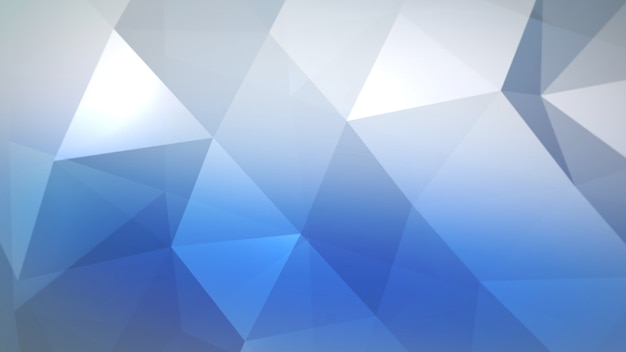 Blue triangles, abstract background. elegant and luxury dynamic geometric style for business, 3d illustration