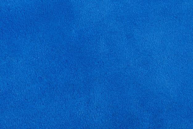 バックグラウンドで使用するための青いベルベット。高解像度の写真。