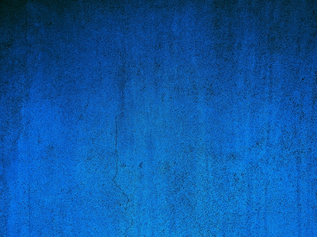 Blue wall abstract background gradient.