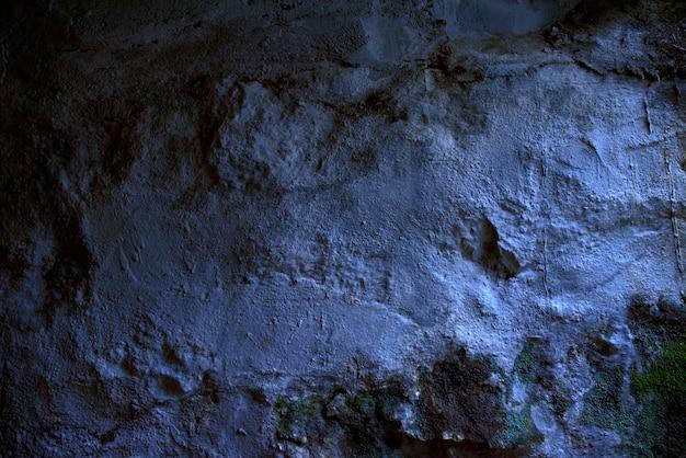 Синий стены гранж текстуры фона