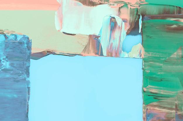 Синий фон обоев, абстрактное текстурированное искусство со смешанными цветами