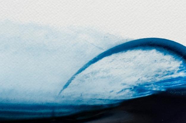 푸른 물 컬러 브러시 스트로크