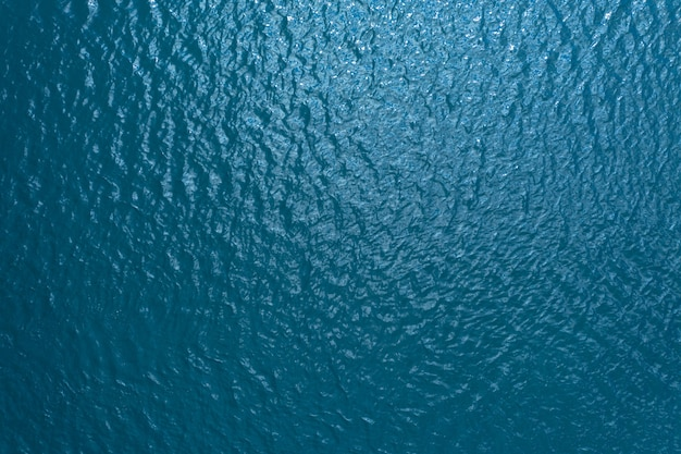 Blue water surface texture