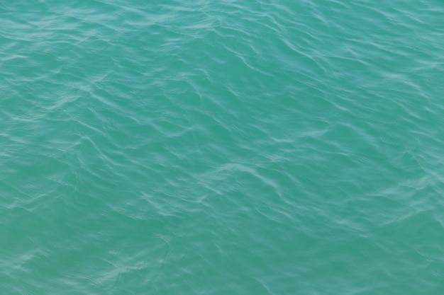 푸른 물 질감 배경입니다. 바다의 표면