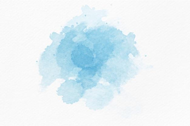 青い水彩抽象的なスプラッシュ背景