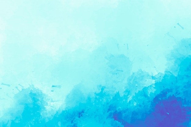 Blue watercolor background. digital drawing.