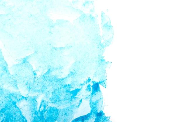 Синий фон акварель всплеск инсульта. рисованием
