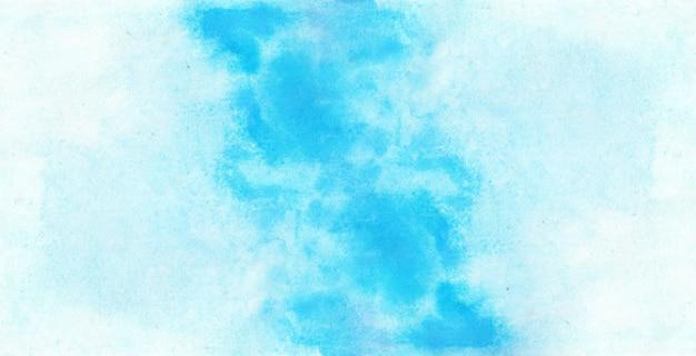 블루 수채화 질감 배경