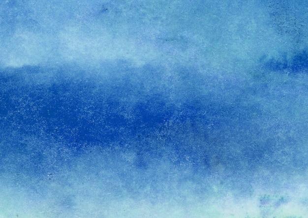青い水彩テクスチャ