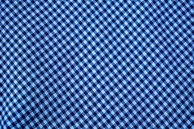 Blue wave pattern fabric for background or surface