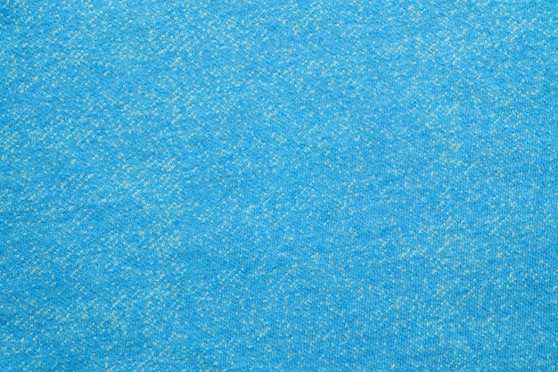 Blue and white cotton fabric textured background