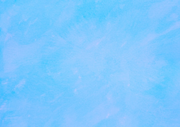 Blue white grunge pastel color watercolor texture background abstract painting artwork