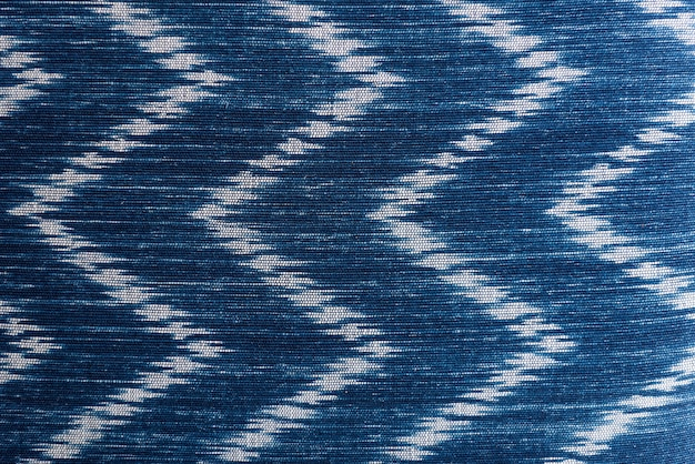 Blue and white textiles textured wallpaper