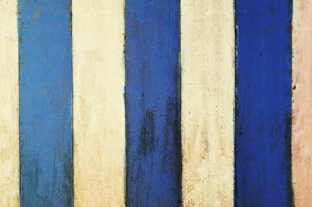 Blue and white  wooden  background