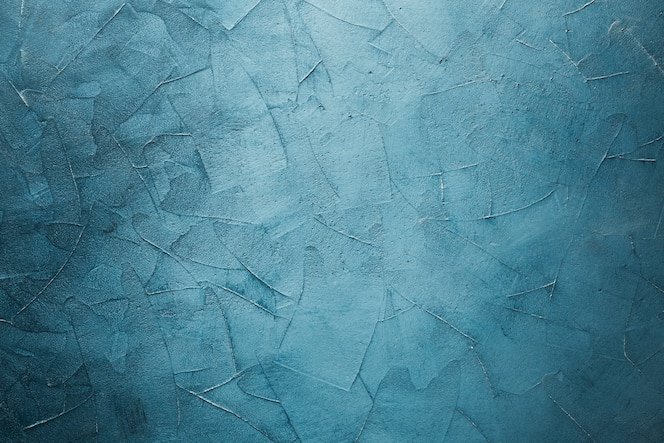 Blue with vignette marble texture background with copy space