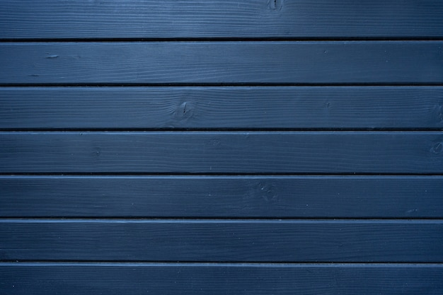Blue wood texture of wood wall for background and texture.