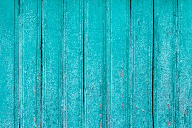 Blue wooden boards grunge background