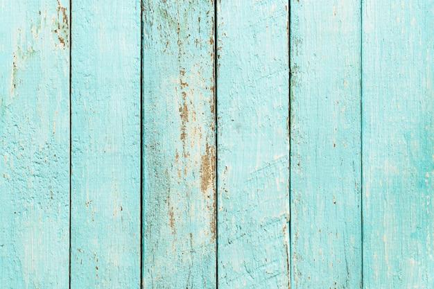 背景、デザインの表面の青い木目テクスチャの青い木製パネル