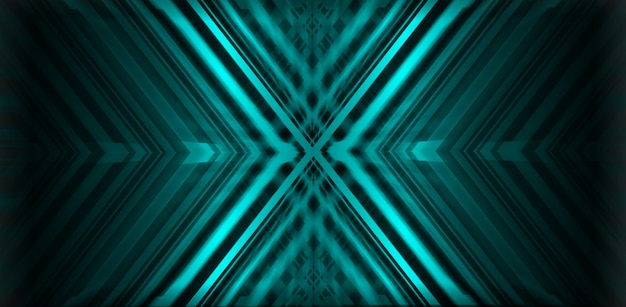 Blue x abstract background