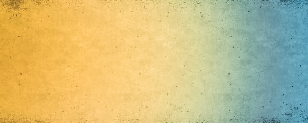 Blue and yellow gradient, bright colorful background texture
