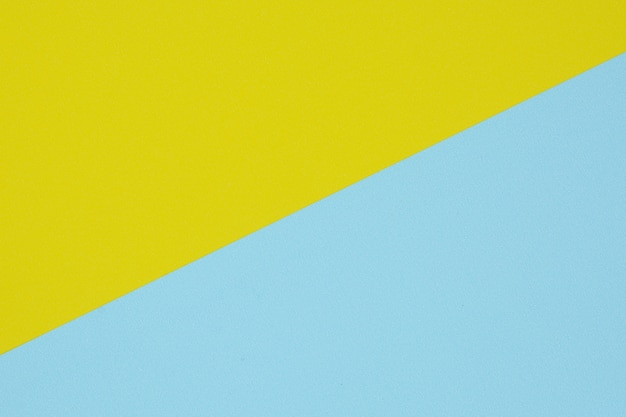 Blue and yellow paper texture