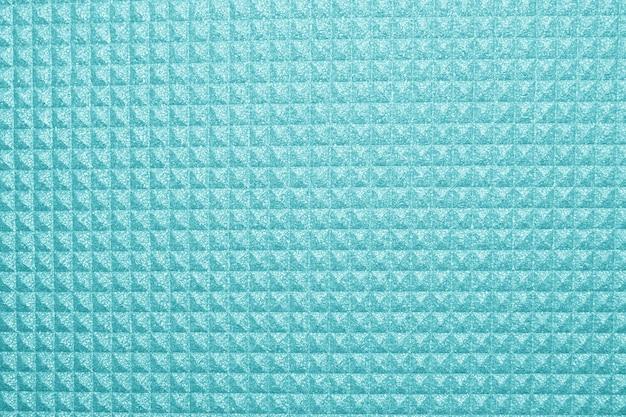 Blue yoga mat texture background. background of camping mat