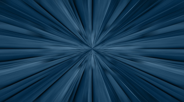 Blue zoom radial motion move blur