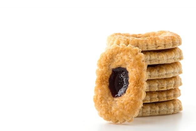 블루 베리 비스킷 파이