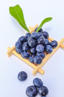Blueberry leaves nature mix eating