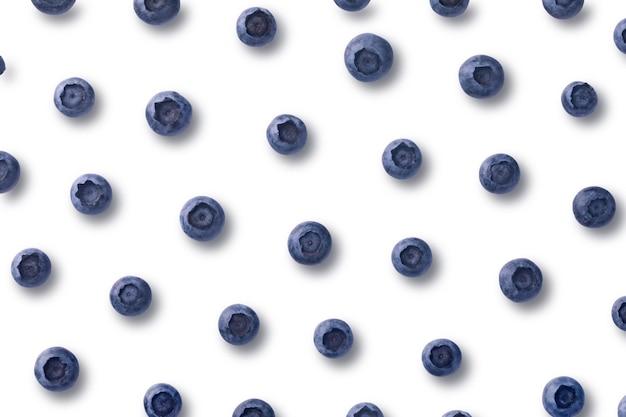 블루 베리 패턴 구성