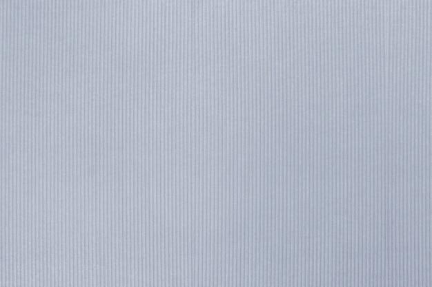 青みがかった灰色のコーデュロイテキスタイルテクスチャ背景