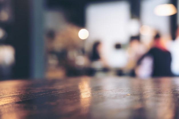 Blur coffee cafe Premium Photo