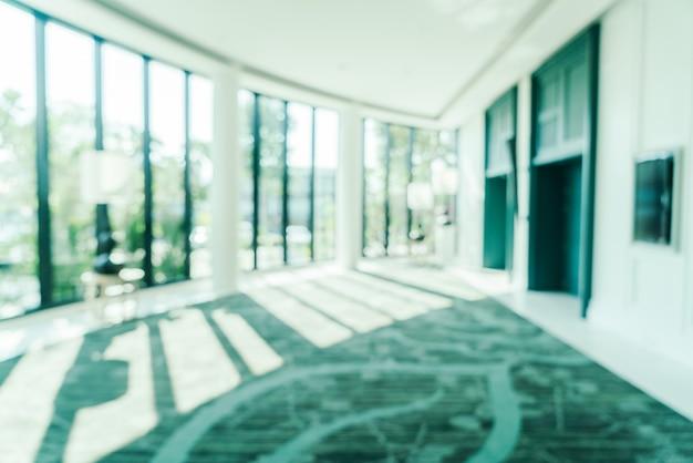 Blur hotel lobby