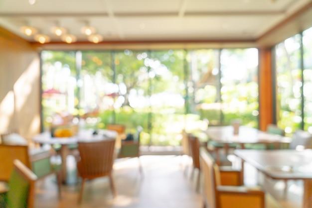 Blur hotel restaurant