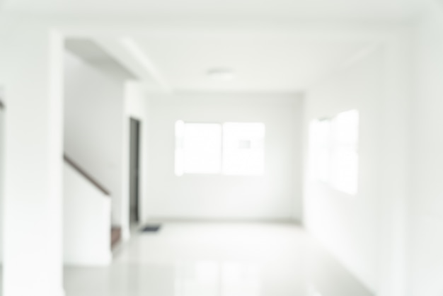 Размытие изображения дома для фона
