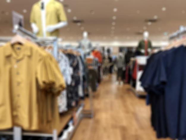 Размытие фото для мультибрендового магазина мужской и женской одежды